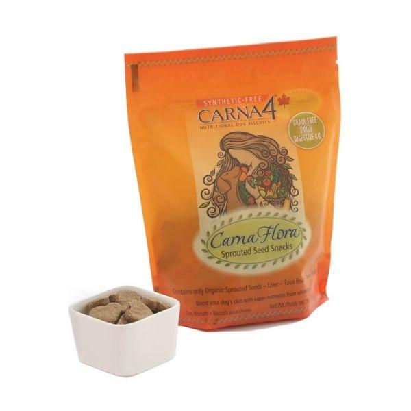 snacks de semillas germinadas de carnaflora
